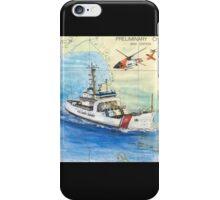 USCG Storis Nautical Chart Map Cathy Peek iPhone Case/Skin