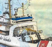 USCG Storis Nautical Chart Map Cathy Peek Sticker