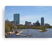 Boston & The Charles River Canvas Print
