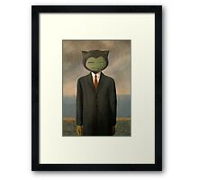 Son of Snorlax! Framed Print