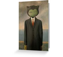 Son of Snorlax! Greeting Card