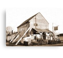 Shorterville Grocery Canvas Print