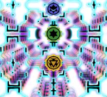 aWEARness clothing (Shipibo inspired) Sticker