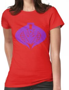 Cross Over Womens Fitted T-Shirt