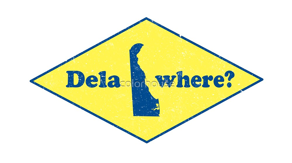 Delawhere? Vintage Delaware by colorhouse