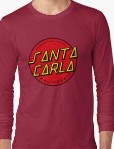 Santa Carla Skate Logo  Long Sleeve T-Shirt