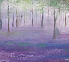 Bluebell Heaven by Monika Howarth