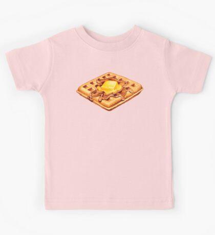 Waffle Pattern Kids Clothes