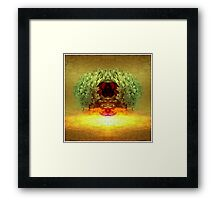 Self Portrait Series: No.3 Egg Head New Day Framed Print