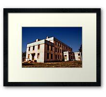 Community Hospital Framed Print