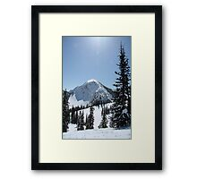 Midday on Milky Way Framed Print