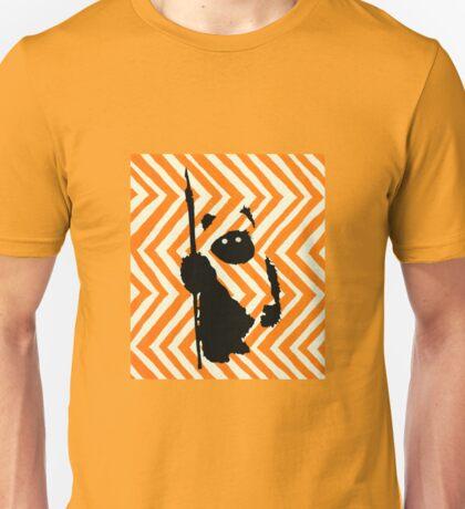 Ewok Chevron Orange Unisex T-Shirt