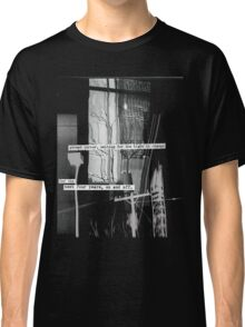 street corner, waiting for the light to change Classic T-Shirt