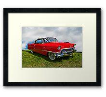 1955 Cadillac Convertible Framed Print