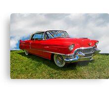 1955 Cadillac Convertible Metal Print