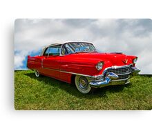 1955 Cadillac Convertible Canvas Print