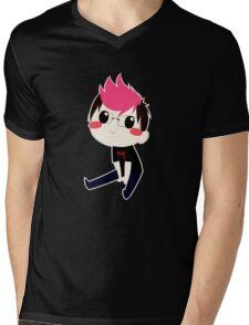 Chibi Markiplier Mens V-Neck T-Shirt