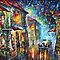 GREEK NIGHT - OIL PAINTING BY LEONID AFREMOV by Leonid  Afremov