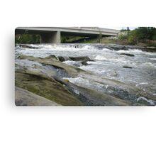 Hocking River Riffles Canvas Print