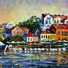 MEDITERRANEAN NOON - OIL PAINTING BY LEONID AFREMOV by Leonid  Afremov