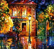 HIGHT OF EXPECTATIONS - OIL PAINTING BY LEONID AFREMOV by Leonid  Afremov