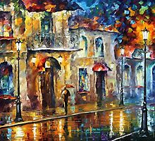 DELLUSION OF NIGHT - OIL PAINTING BY LEONID AFREMOV by Leonid  Afremov
