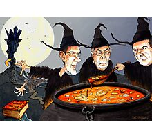 George Osborne and Witch Pals Photographic Print