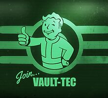 Join Vault Tech | Fallout Franchise Design by BOSTrinity