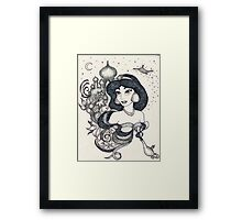 Iconic Jasmine Framed Print