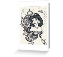 Iconic Jasmine Greeting Card