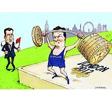 Osborne and Coe's Economic Olympics Photographic Print