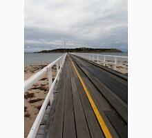 Tramline to Granite Island, Victor Harbour, South Australia. Unisex T-Shirt