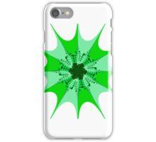 Mesem Fractal Green iPhone Case/Skin
