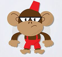 Grumpy Monkey by Paul Mitchell