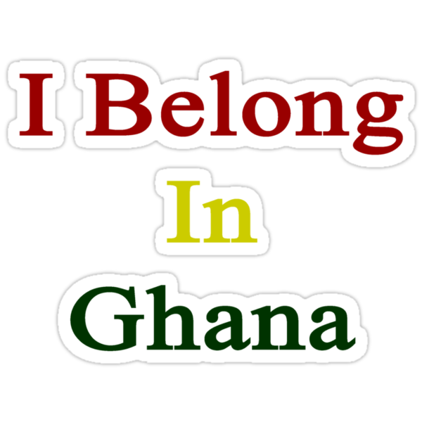 I Belong In Ghana by supernova23