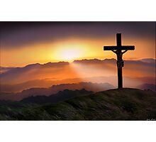 The Passion of The Christ Photographic Print