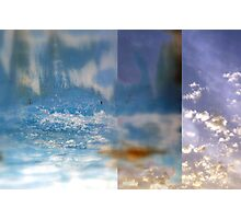 Water and Sky Photographic Print