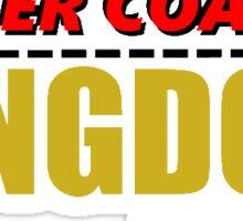 Roller Coaster Kingdom Sticker