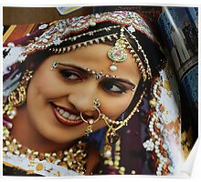 Indian Beauty Poster