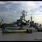 Hms Belfast  by Jonathan  Jarman