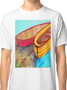 Boats in Waiting Classic T-Shirt