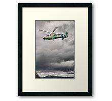 Great North Air Ambulance Framed Print