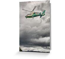 Great North Air Ambulance Greeting Card