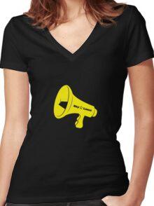 Yohio Women's Fitted V-Neck T-Shirt
