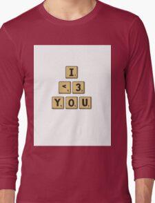 Scrabble Love Long Sleeve T-Shirt