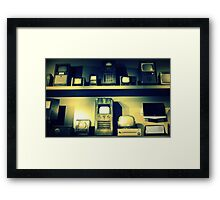 TV Heaven Framed Print