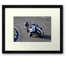 It's all in the eyes ! Framed Print