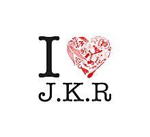 I <3 JKR Photographic Print
