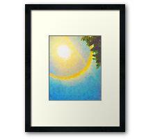 Sun Halo 03 Framed Print