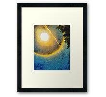 Sun Halo 01 Framed Print